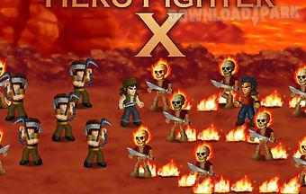 Hero fighter x