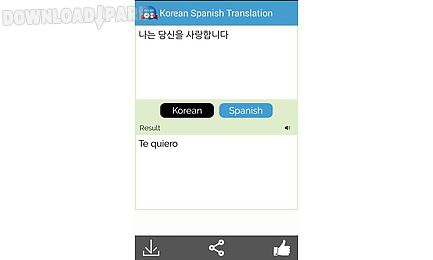 korean to spanish translator
