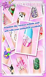 manicure nail salon 2 - nails art