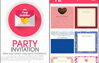 Party invitation lite