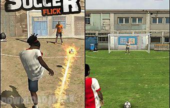 Street soccer flick