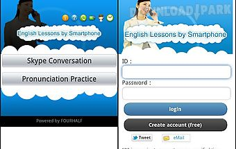 English lessons by smartphone