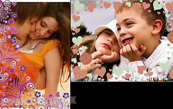 Love cuore photo frames