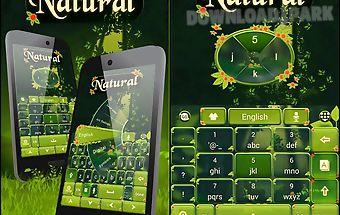 Natural go keyboard theme
