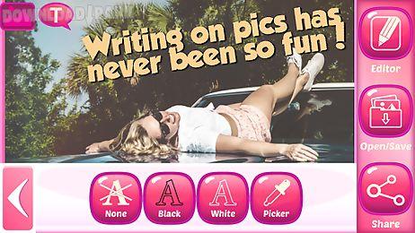 photo writer editor