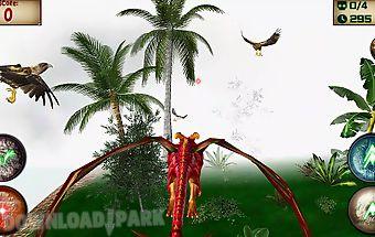 Wild dragon: bird hunter