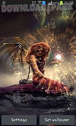 Free Apk Files Fantasy Live Wallpapers Evil Fairy