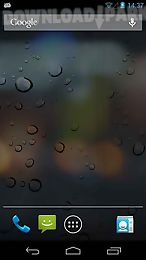 Rain Drops Live 3d Wallpaper Android Animiert