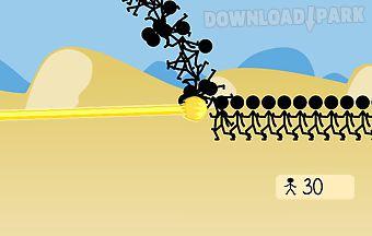 Stickman vs fireball