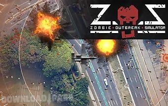 Zombie outbreak simulator