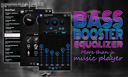 bass booster and equalizer