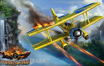 Wings on fire - endless flight