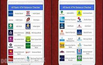 All bank atm balance checker
