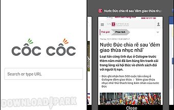 Cốc cốc browser