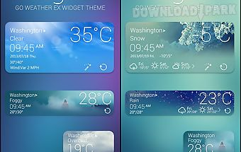 Elegant reward theme goweather
