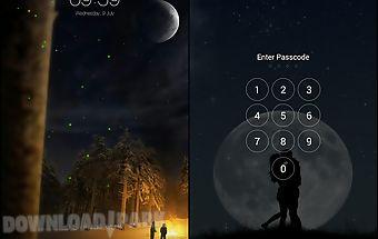 Firefly live lock screen