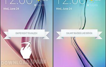 Lock screen galaxy s6 edge