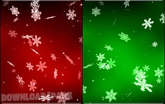 Snowflake 3d live wallpaper