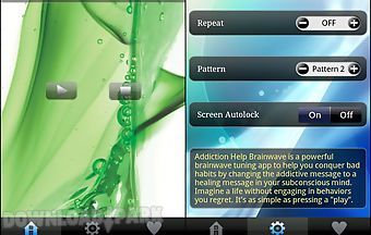 Addiction help brainwave