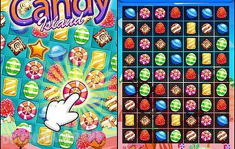 Candy island: match-3