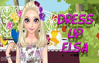 Dress up elsa in guests