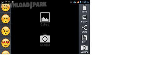 Emoji camera Android App free download in Apk