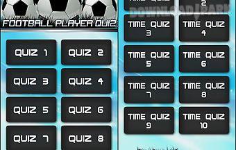 Football players quiz pro