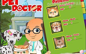 Pet vet doctor