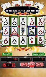 video poker: slot machine