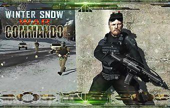 Winter snow war commando. navy s..