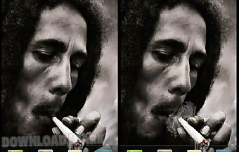 Bob marley smoking live wallpape..