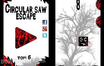 Circular saw escape