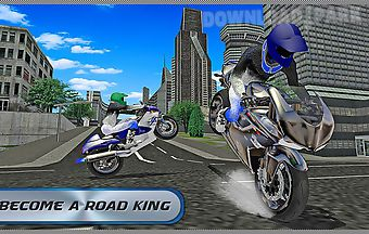 City moto biker 2016