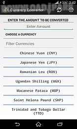 currency converter x