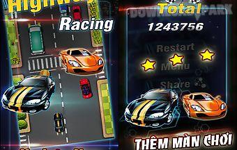 Highway racing: love of speed