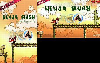 Ninja rush rush