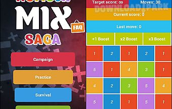 Number mix saga