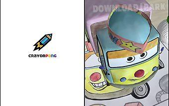 Crayonpang - 3d coloring