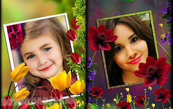 Flower photo frames lwp