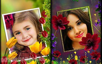 Flower photo frames lwp