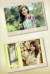 edit photo with square frame