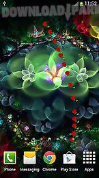 fantasy flowers live wallpaper