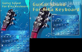 Guitar sound for kika keyboard
