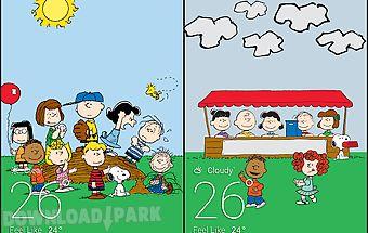 Peanuts weather livebackground