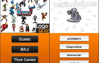 Amazing superheroes logo quiz