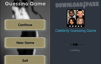Celebrity guessin game