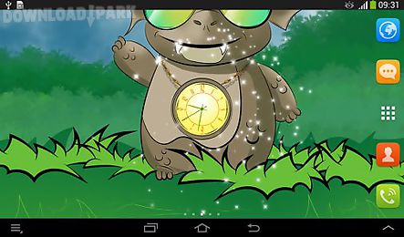 cute dragon: clock