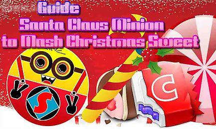 despicable santa minion crush christmas candy