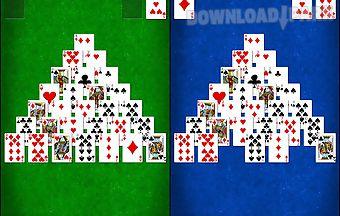 Pyramid solitaire lte