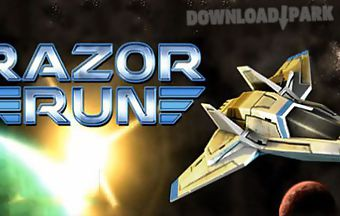 Razor run: 3d space shooter